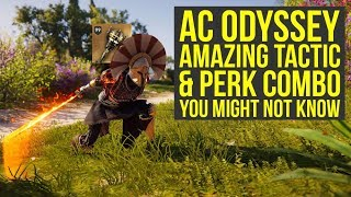 Assassin's Creed Odyssey Best Build - Amazing Tactic & Perk Combo's You Might Not Know (AC Odyssey)