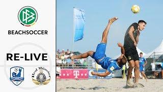 LIVE 🔴 Rostocker Robben - Real Münster | Semi-Final - German Beach Soccer League | Final Four