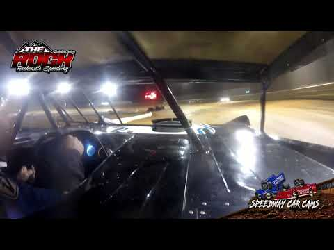 #R4 Ricky Arms - Pro-Late Model - 7-9-21 Rockcastle Speedway - In-Car Camera - dirt track racing video image