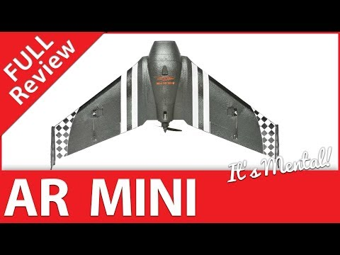 "AR Mini FPV Wing Review - 600mm / 24"" Moulded Black EPP Wing - UCWP6vjgBw1y15xHAyTDyUTw"