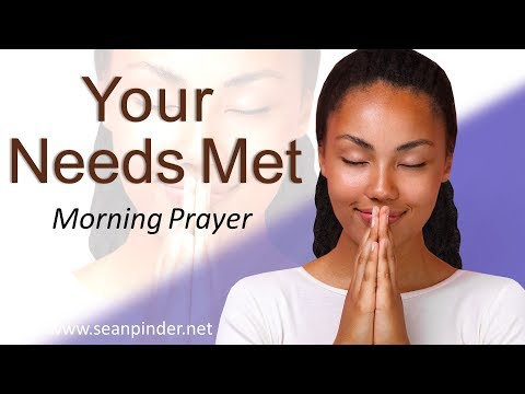 GOD WILL SUPPLY ALL YOUR NEEDS - MATTHEW 6 - MORNING PRAYER  PASTOR SEAN PINDER (video)