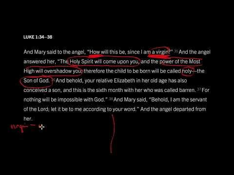 Luke 1:2638 // Seven Reasons to Worship on Christmas