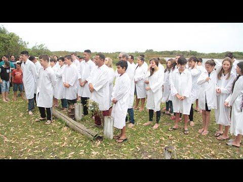 Batismo nas águas - 01 de dezembro de 2019