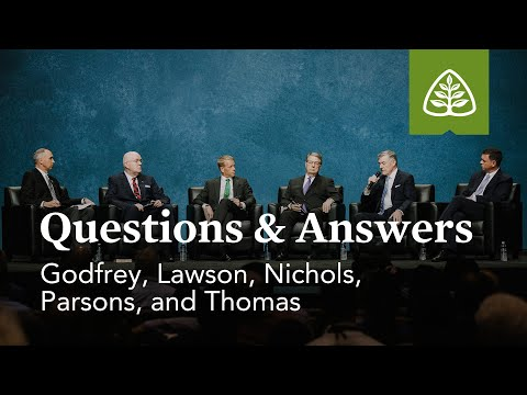 Questions & Answers with Godfrey, Lawson, Nichols, Parsons, and Thomas