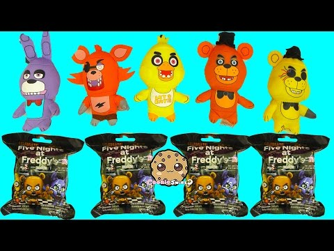 Five Nights A Freddy's Surprise Mystery Blind Bags + FNAF Plushies - Cookieswirlc Video - UCelMeixAOTs2OQAAi9wU8-g