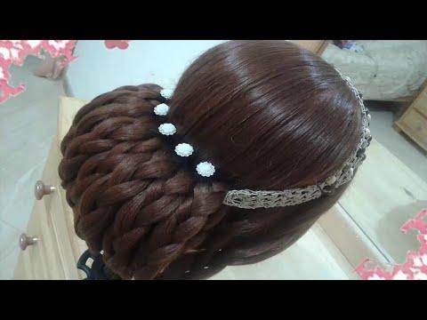 Youtube Peinados Recogidos Faciles Para Cabello Largo Bonitos Y