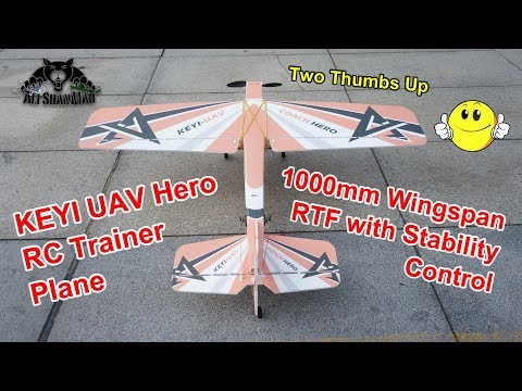 The Best RC Trainer Plane to Learn to Fly RC Planes - UCsFctXdFnbeoKpLefdEloEQ