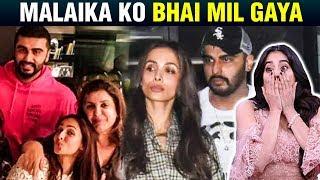 Malaika Arora And  Arjun Kapoor Celebrate Raksha Bandhan