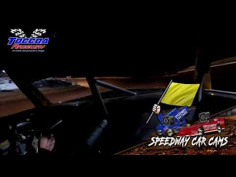 #58 Jackie Davidson - Truck - 10-23-21 Toccoa Raceway - In-Car Camera - dirt track racing video image