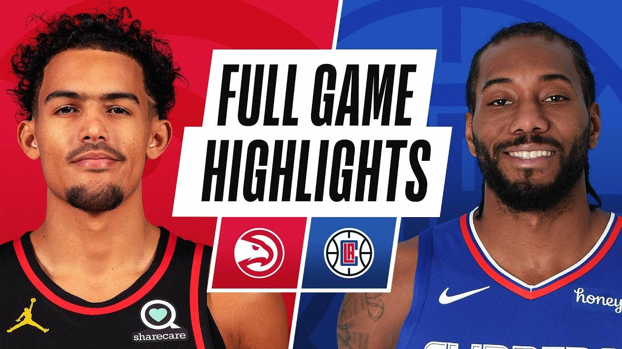 HAWKS at CLIPPERS | FULL GAME HIGHLIGHTS | March 22, 2021