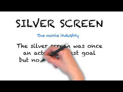 Silver Screen - English Idioms