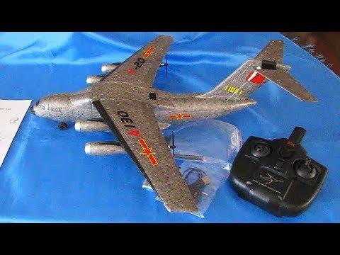 XK A130 Y20 Three Channel RC Transport Aircraft Flight Test Review - UC90A4JdsSoFm1Okfu0DHTuQ