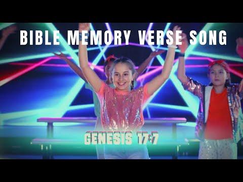 Memory Verse Song - Genesis 17:7