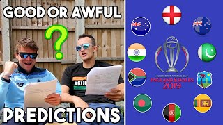 REACTING TO OUR WORLD CUP PREDICTIONS | How Bad Were They ACTUALLY?