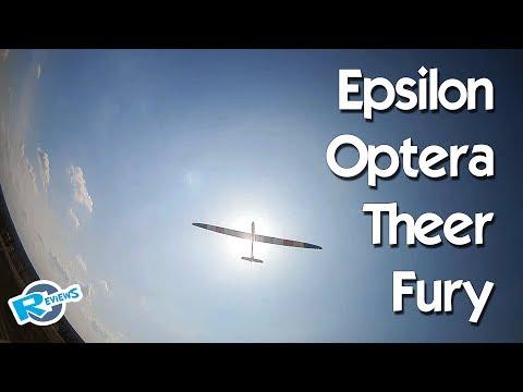 Epsilon XL 4.0m, Optera 2.0m, Fury Wing, Theer wing - Fun fly - UCv2D074JIyQEXdjK17SmREQ