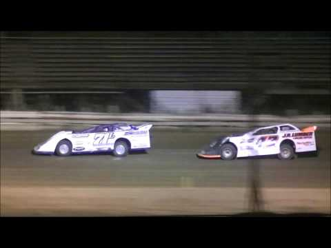 Raceway 7 C.A.R.S. Crate Late Model Feature - dirt track racing video image
