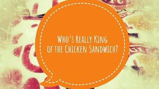 Popeyes 🆚 Chick Fil A Chicken Sandwich Challenge