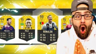 OMG ONE OF THE GREATEST DRAFT EVER! HIGHEST RATED DRAFT CHALLENGE! FIFA 19 Ultimate team
