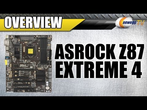 Newegg TV: ASRock Z87 Extreme4 Motherboard Overview - UCJ1rSlahM7TYWGxEscL0g7Q