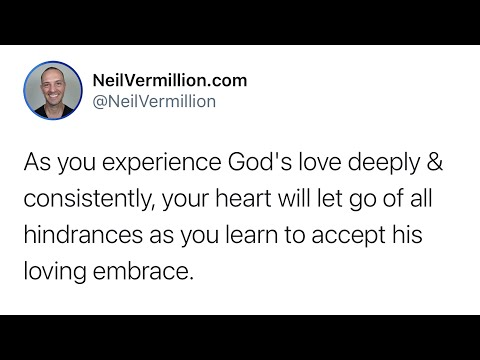 Learn To Accept My Embrace - Daily Prophetic Word