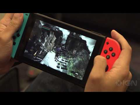 25 Minutes of Dark Souls Remastered in Handheld Mode on the Nintendo Switch - PAX East 2018 - UCKy1dAqELo0zrOtPkf0eTMw
