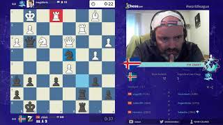 LCWL - Team Iceland vs Argentina - Divison 1 - Week 4