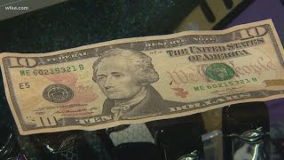 Dallas businesses warning others about customers using counterfeit cash