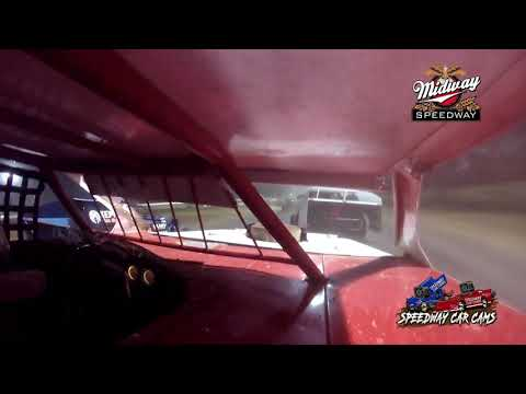 #21 Greg Scheffler - Usra B-Modified - 9-10-2021 Midway Speedway - In Car Camera - dirt track racing video image