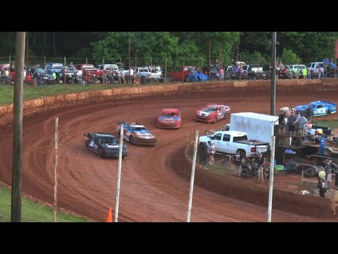 Modified Street at Winder Barrow Speedway May 15th 2021 - dirt track racing video image