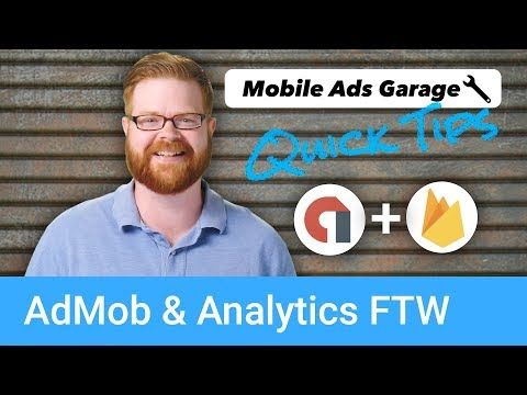 AdMob & Analytics FTW - AdMob Quick Tip #1 - UC_x5XG1OV2P6uZZ5FSM9Ttw