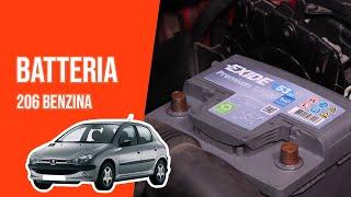 Cambio batteria Peugeot 206 1.4I