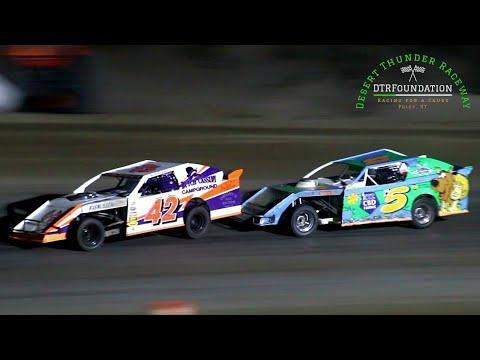 Desert Thunder Raceway IMCA Northern SportMod Main Event 8/28/21 - dirt track racing video image