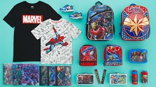 Back to School with Marvel and Walmart!