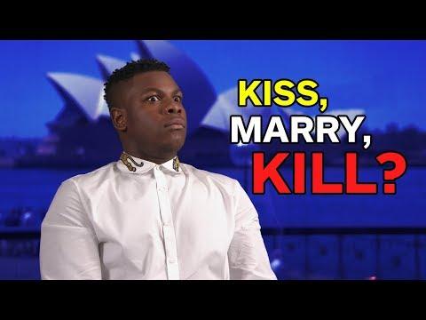 John Boyega Plays Kiss, Marry, Kill - UCKy1dAqELo0zrOtPkf0eTMw