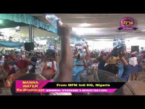 MFM SPECIAL MANNA WATER SERVICE WEDNESDAY MAY 6th 2020