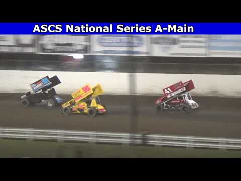 2021 Dirt Cup, Night 3, ASCS National Series A-Main - dirt track racing video image