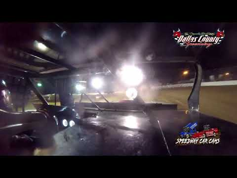 #42J Donnie Jackson - B Mod - 7-9-2021 Dallas County Speedway - In Car Camera - dirt track racing video image
