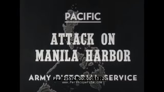 WWII COMBAT BULLETIN NO.40   ATTACK ON MANILA HARBOR  & INVASION OF PHILIPPINES  25574