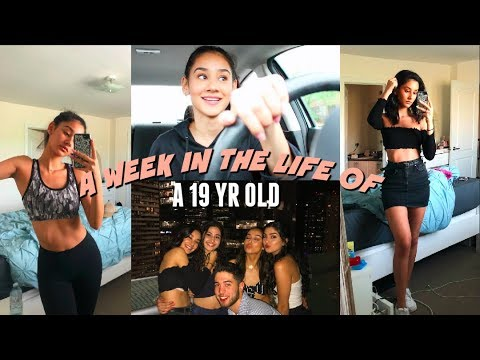 A WEEK IN MY LIFE!! partying, working out +shopping (VLOG) - UCkRZ0ndauRGAgAxb4stK0TQ