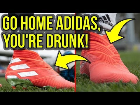 THE ADIDAS NEMEZIZ 19+ IS A SUPER WEIRD LOOKING FOOTBALL BOOT! - UCUU3lMXc6iDrQw4eZen8COQ