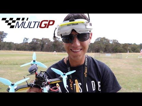 ImpulseRC Helix UTT1 Maiden Flight - FPV Racing Drone - UCOT48Yf56XBpT5WitpnFVrQ