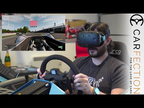 The Best Home VR Racing Simulator You Can Buy? - Carfection - UCwuDqQjo53xnxWKRVfw_41w