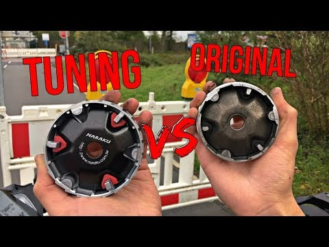 VARIATOR CVT TUNING TIPS! HOW TO Make Your Scooter Faster