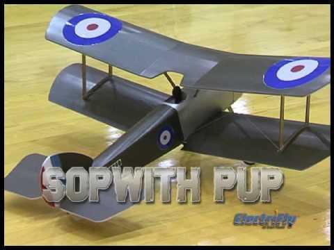 Spotlight: ElectriFly Sopwith Pup Slow Flyer Foam EP ARF - UCa9C6n0jPnndOL9IXJya_oQ