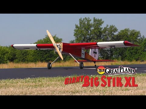 Great Planes Giant Big Stik XL : Raw Performance - UCa9C6n0jPnndOL9IXJya_oQ