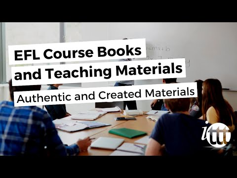 Coursebooks and Materials - Authentic and Created Materials