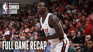 JAZZ vs HEAT | Nunn, Robinson Combine For 44 In Win | MGM Resorts NBA Summer League