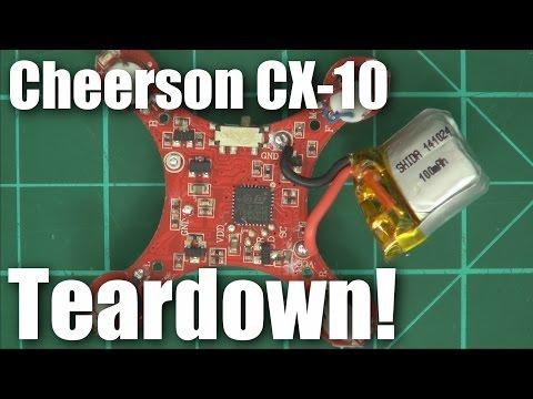Teardown: Cheerson CX-10 micro quadcopter - UCahqHsTaADV8MMmj2D5i1Vw