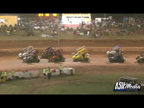 Sprintcars: 2019/20 Queensland Title - B-Main - Archerfield Speedway - 04.10.2020 - dirt track racing video image