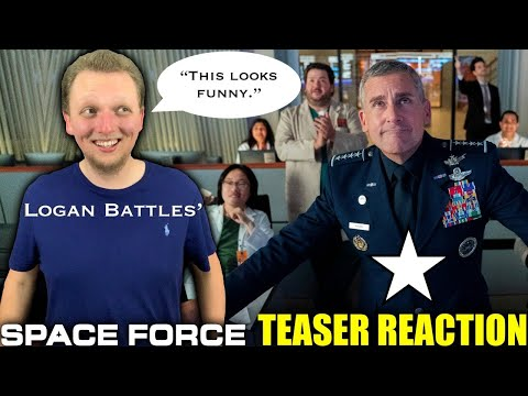 Space Force | Official Teaser REACTION!